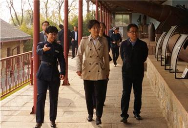 杨丽副市长赴刘公岛景区调研旅游工作