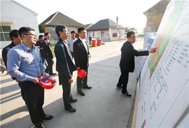 市委副书记霍高原赴刘公岛调研历史选择展馆建设