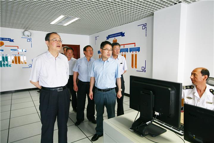 省政府巡查组检查刘公岛安全生产工作